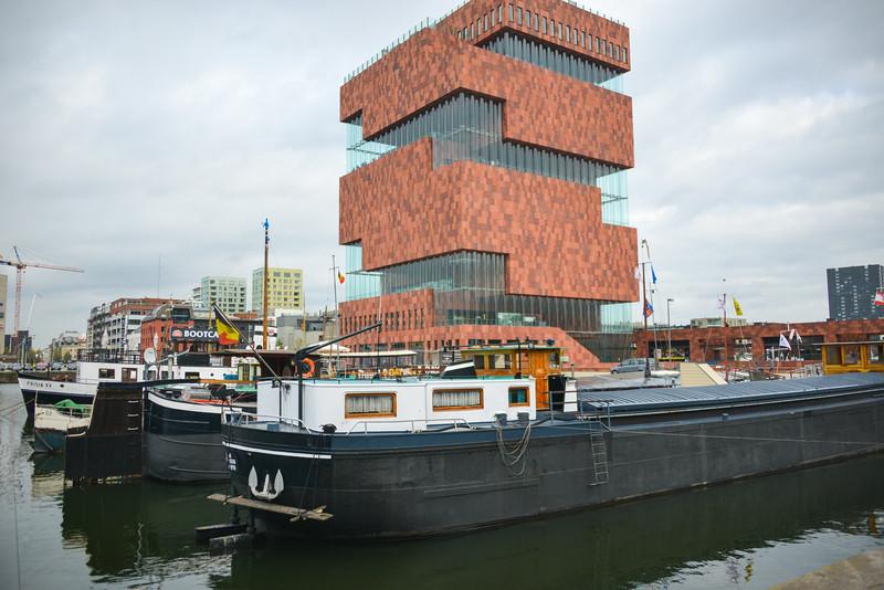 The MAS Museum Antwerp Belgium