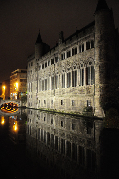 I love the canals in Gent, Belgium