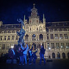 Devoxx posse at the Antwerp Town Hall