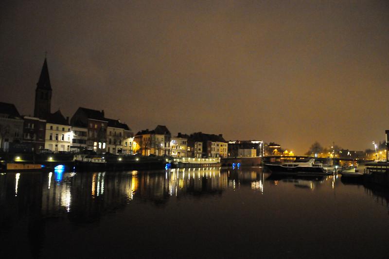 Gent Belgium at Night