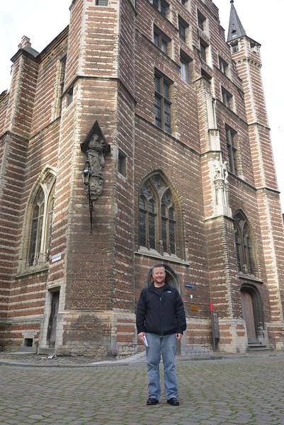 Matt on Vleeshouwers Straat Antwerp Belgium