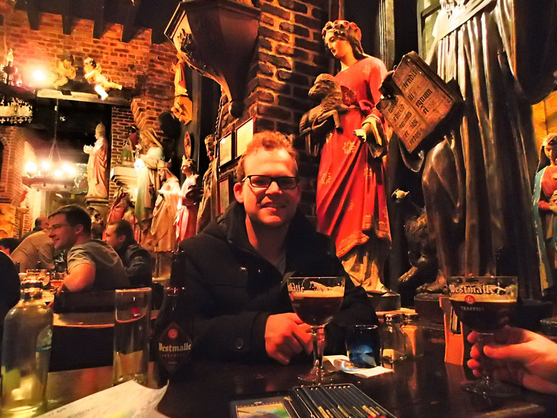 Josh at Statue Bar in Antwerp