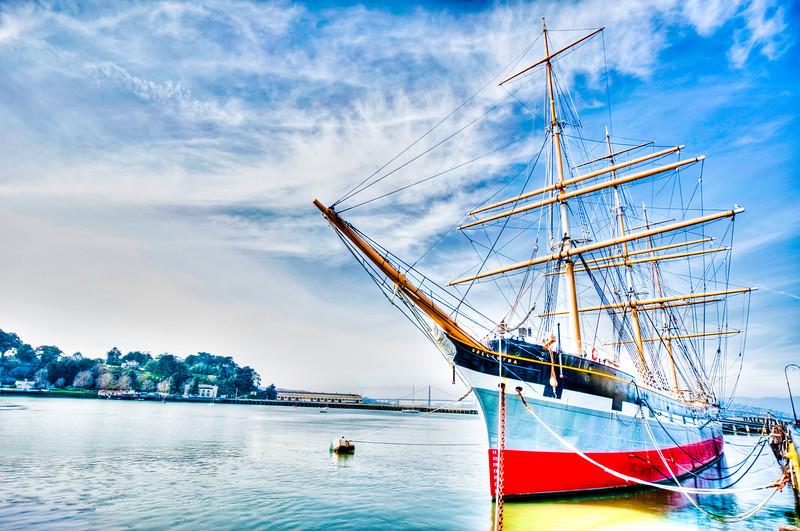 Balclutha Maritime Museum San Francisco California