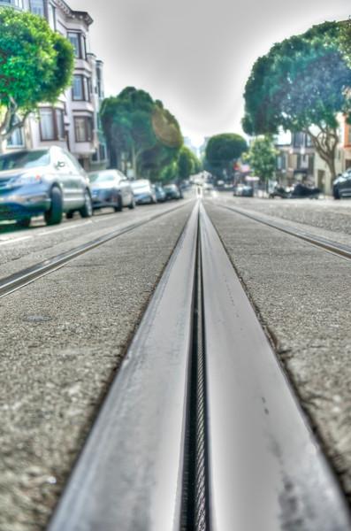 Street Cable San Francisco, California