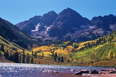 Maroon Bells in Autumn Aspen, Colorado