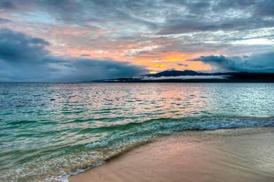 A beautiful Fijian sunset