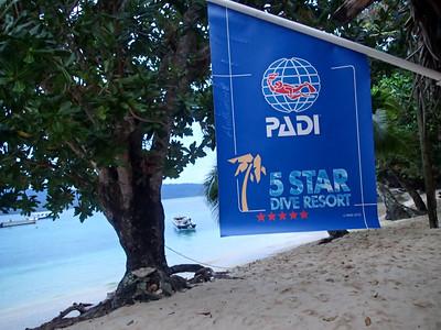 Qamea is a 5 star Padi resort!