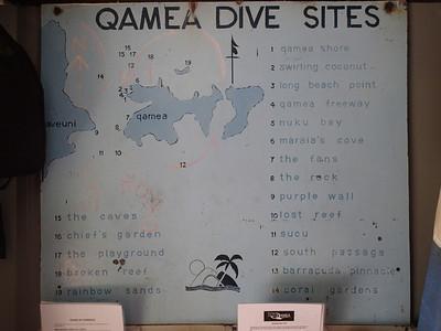 Qamea Dive Sites!