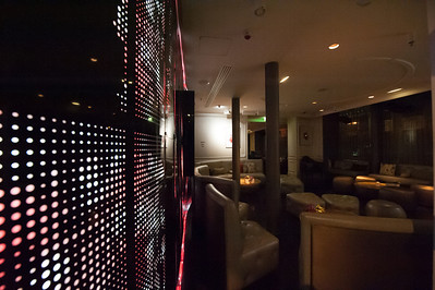 Lounge at the W in Paris