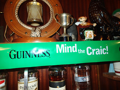 Craic means Fun in Ireland!