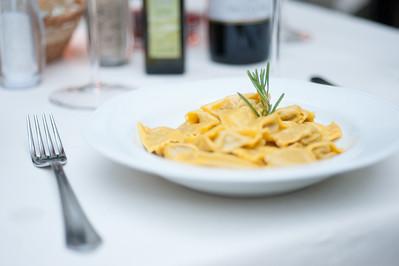 Yum Pasta in Italy!