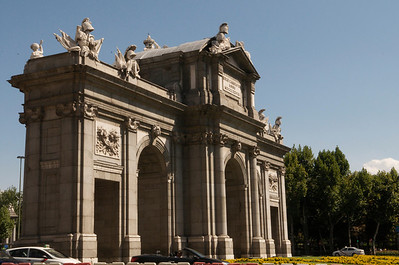Puerta de Alcala, Madrid. Love it!