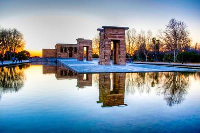 Templo de Debod Madrid Espana