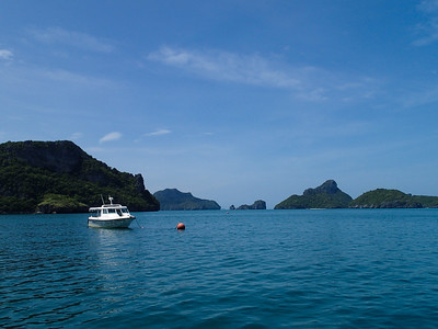Sea view of Ang Thong Islands