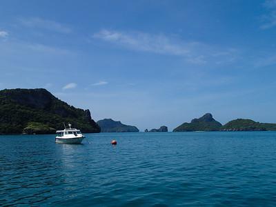 Sea view of Ang Thong Islands