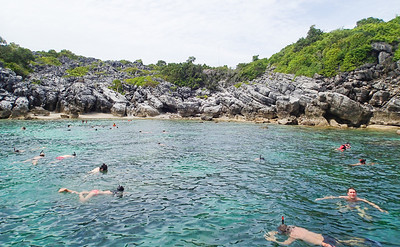 1st stop - Snorkeling in the National Marine Park