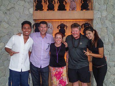 Photo with Brian Segrave the GM, Ice, Khun Nong