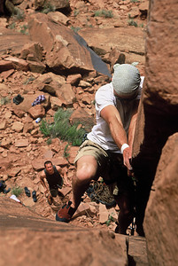 My climber friends in Moab, Utah