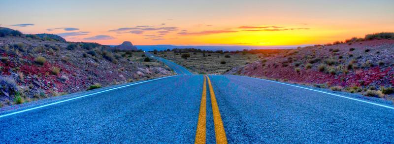 Road to the Canyonlands Overlook.  I love Utah!