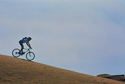 Slick Rock mountain biking in Moab, Utah