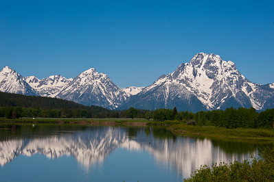 View of the Tetons July 2011