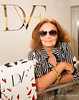 Diane Von Furstenberg, Fashion Designer, In Her Boutique Store 10/26/13 Dallas TX<br /> Photo © Daniel Driensky