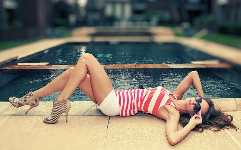 'Poolside Lounge'<br /> Loren Wilson, Campbell Agency represented model<br /> Daniel Driensky © 2011