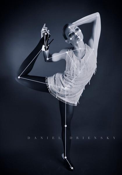 'Constellation Carrie'<br /> Model: Carrie Jessie <br /> Photo © Daniel Driensky 2011