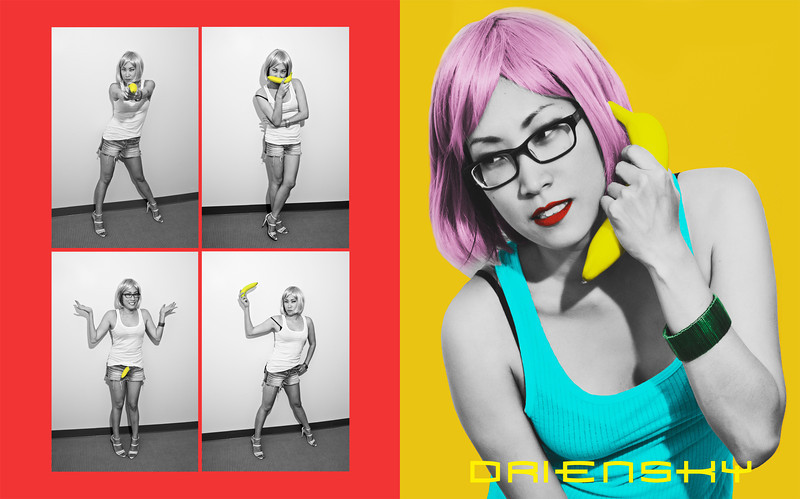'Penny & Banana Tearsheet'<br /> Photos © Daniel Driensky 2012