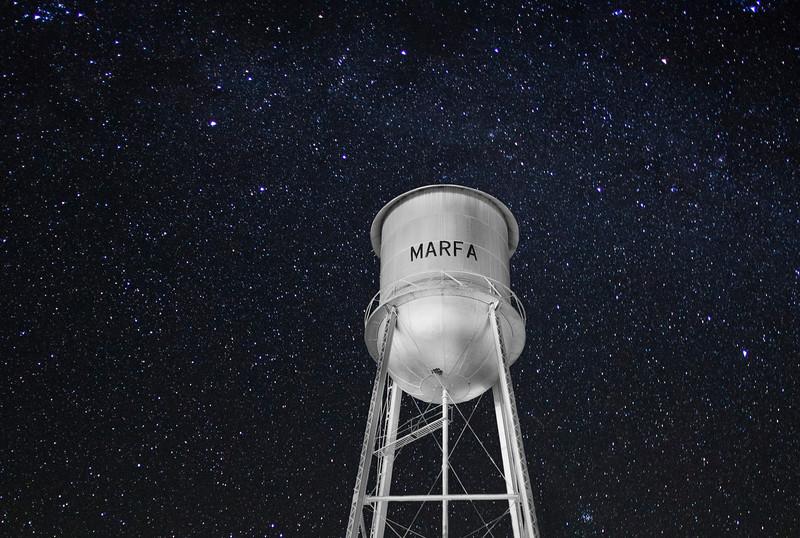 'Starry Night,  Marfa, Texas'