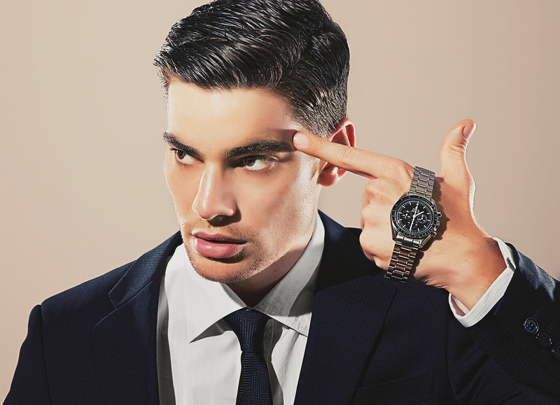 'Killing Time'<br /> Model: David Sciola, LA Models represented<br /> Watch: Omega<br /> Location: LA<br /> Daniel Driensky © 2011