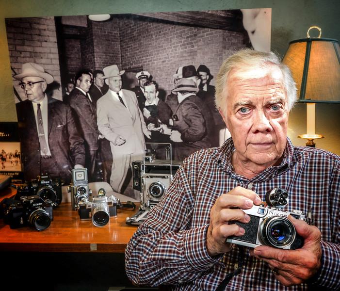 Bob Jackson, Photographer who photographed Jack Ruby shooting Lee Harvey Oswald'