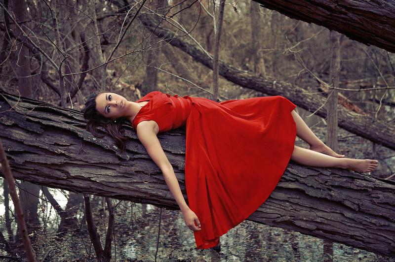 'Her World'<br /> Model: Carrie Jessie<br /> Daniel Driensky © 2011
