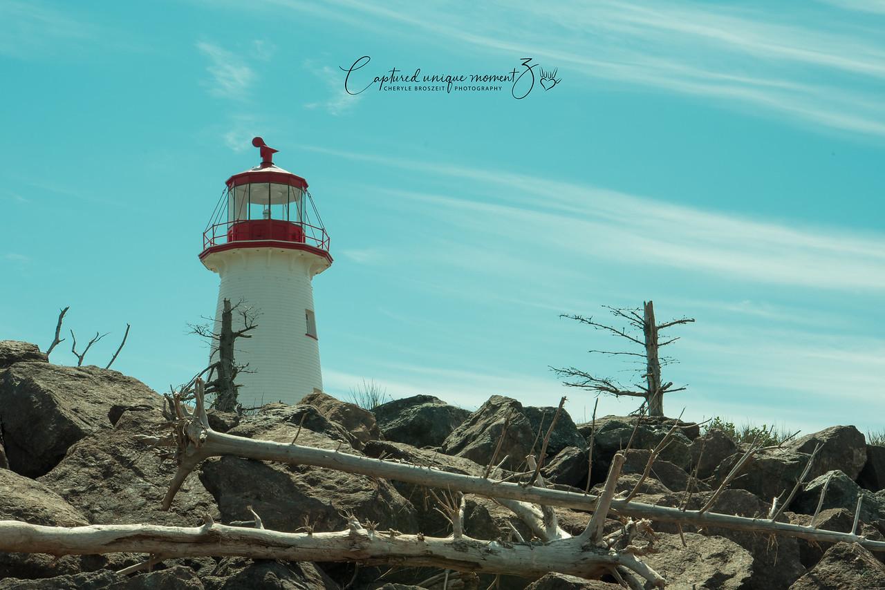 Lighthouse at Point Prim, PEI