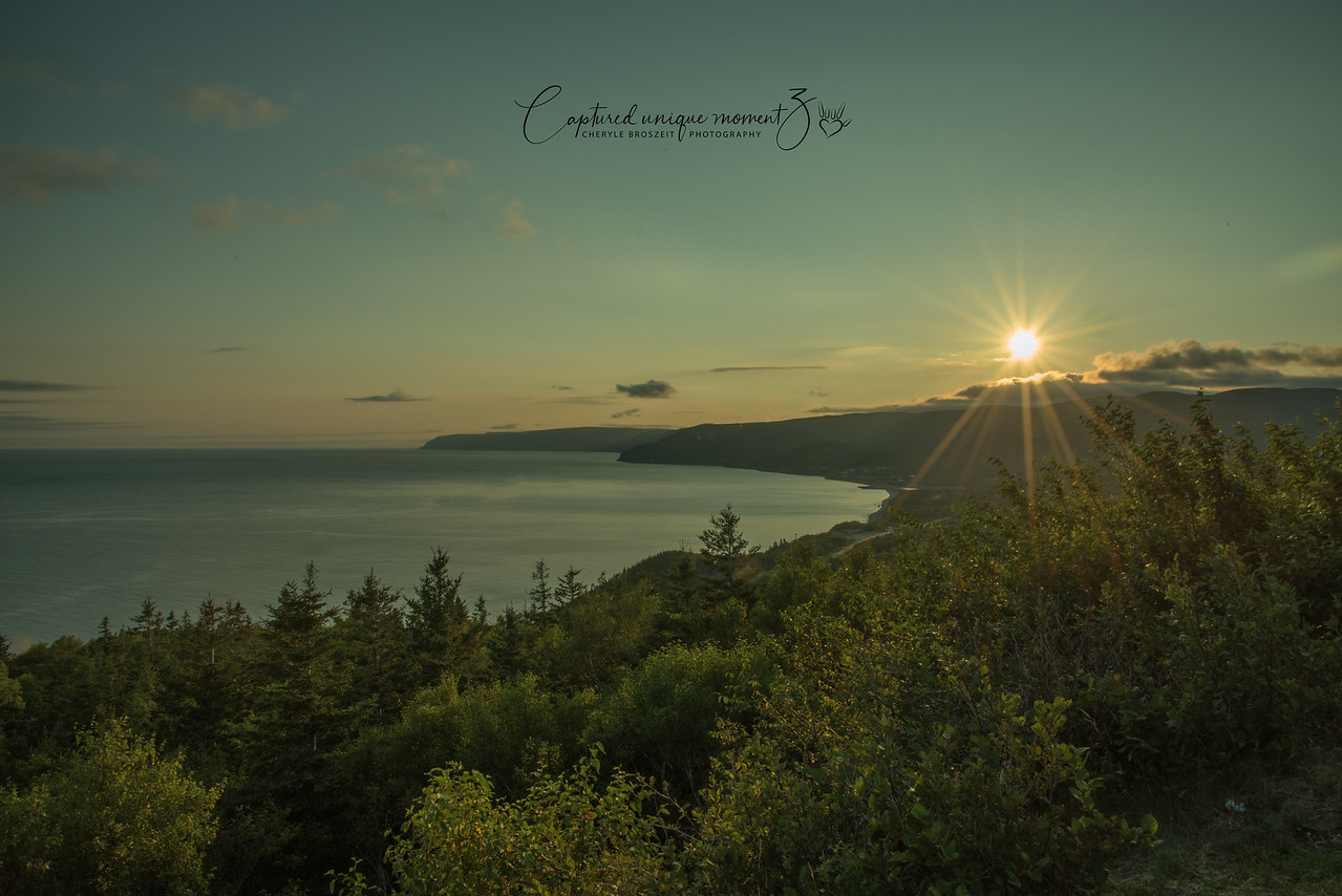 Early morning at Cape Breton
