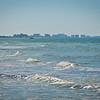 Viewing Tampa's Skyline From Honeymoon Island