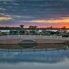 Panarama Sunset At Myakka River Motorcoach Resort
