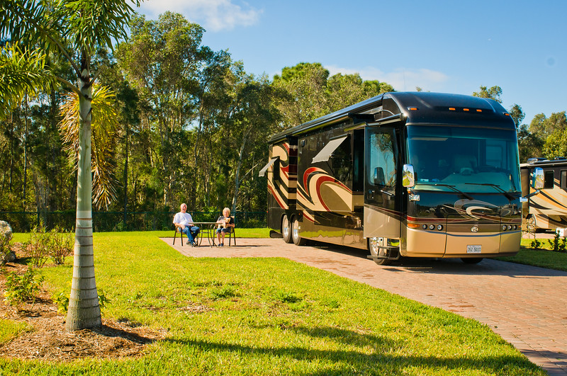 Nature View Site ~ Myakka River Motorcoach Resort