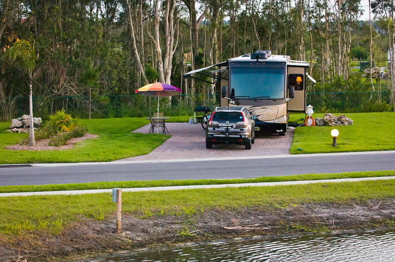 Nature View Site ~ Myakka River Motorcoach Resort