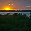 Sunset Over Myakka River From The Myakka River Motorcoach Resort