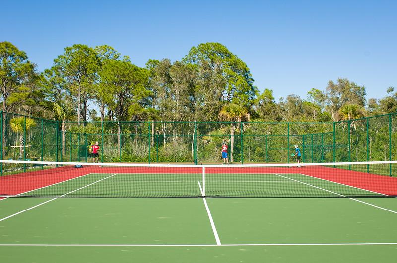Pickle Ball & Tennis At The Myakka River Motorcoach Resort