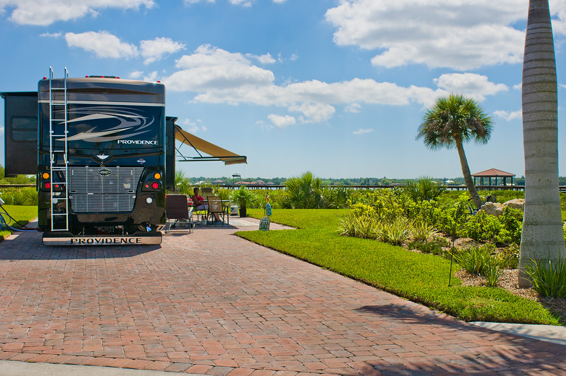 River View Site ~ Myakka River Motorcoach Resort