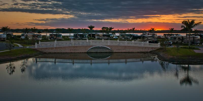 Phenomenal Sunset - Myakka River Motorcoach Resort