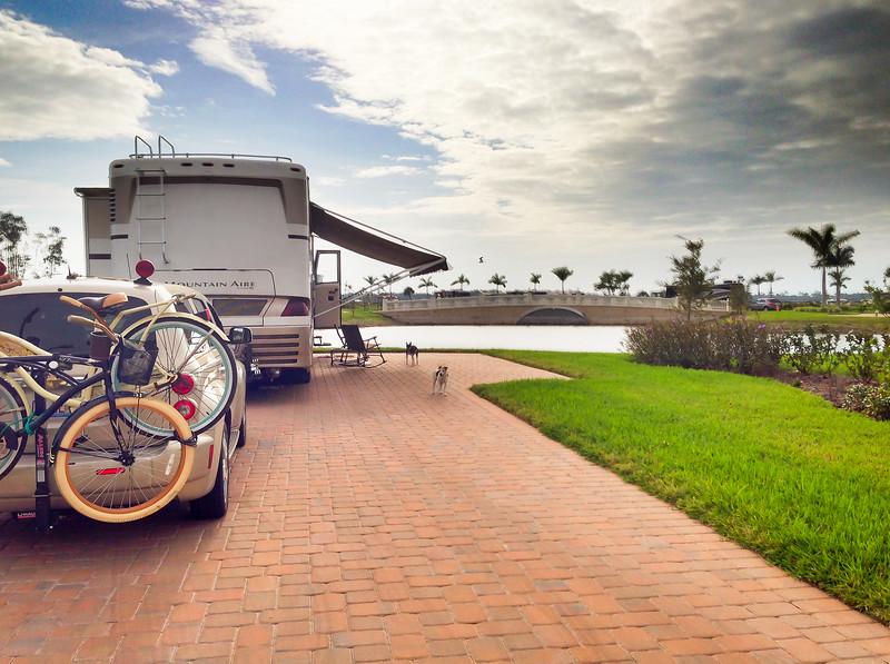 Parked On Site #50 - Myakka River Motorcoach Resort!