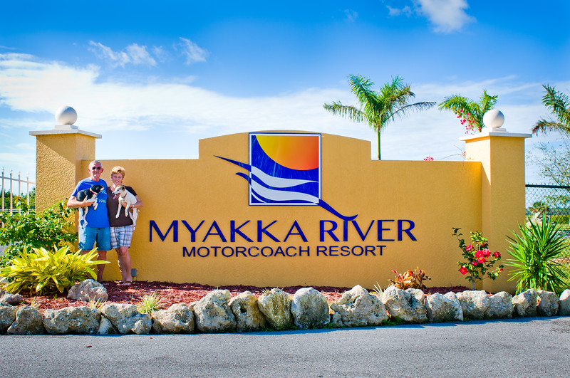 We're Workampers At Myakka River Motorcoach Resort