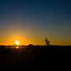 Board Walk Sunset At Myakka River Motorcoach Resort