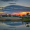 An Amazing Sunset - Myakka River Motorcoach Resort