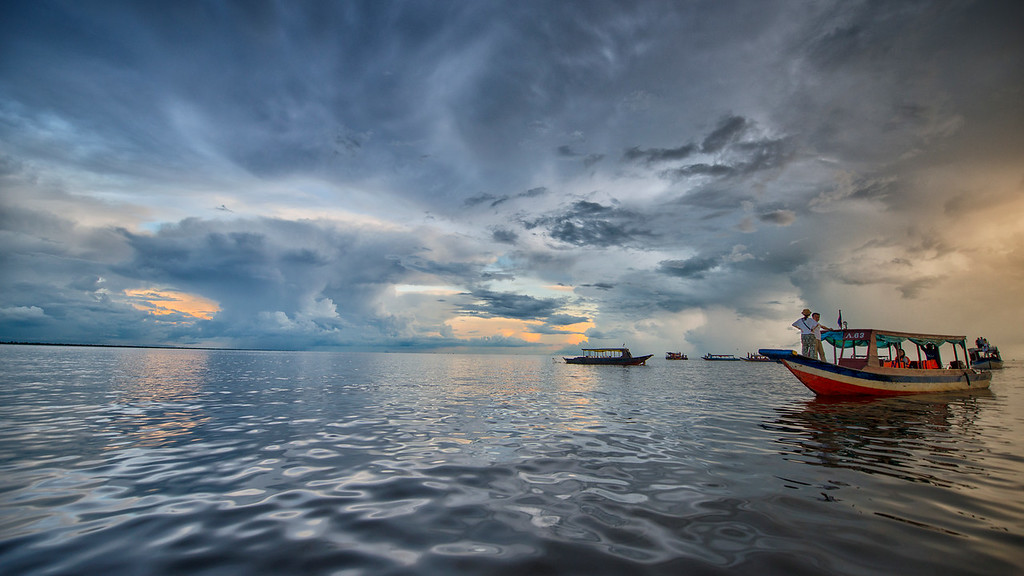 Lake Tonlé Sap, Cambodia - 2015