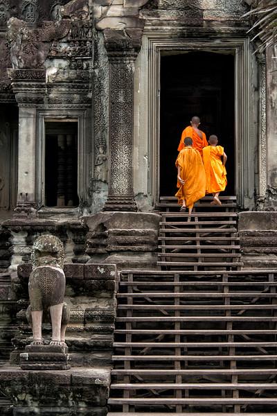 Angkor Wat, Cambodia - 2015