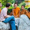 Young Buddhist Monks, Wat Phra That Bang Phuan, Nong Khai, Thailand - 2015